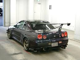 Nissan Gtr R34 - car of the day u2013 10 04 2013 u2013 r34 nissan skyline gtr jdmauctionwatch
