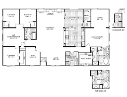 Redman Homes Floor Plans by 4 Bedroom Double Wide Redman Homes Double Wides Redman Homes With