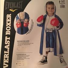 Boxer Halloween Costume 50 Off Other Boys Everlast Boxer Halloween Costume From