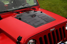 jeep hood vents rugged ridge hood vent insert