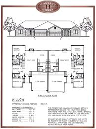 house plans for duplexes three bedroom drummond house plans