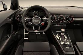 audi dashboard 2018 audi tt rs dashboard photos eye candy 2018 audi tt rs