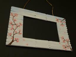 ice cream stick crafts fiona u0027s creative corner photo frame