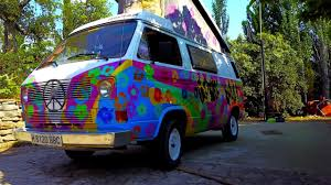volkswagen van hippie volkswagen hippie bus flower power van classic youtube
