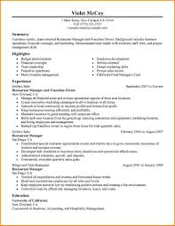 Sample Resume Objectives For Hotel And Restaurant Management by Business Owner Resume 7 Business Owner Resume Samples Uxhandy Com