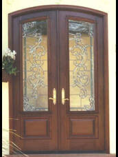 French Doors Wood - country wood french doors for exterior interior