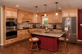 different types of countertops kitchen contemporary with black and