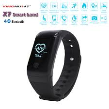 heart health bracelet images Cheap x7 wristband heart health monitor bluetooth smart band jpg
