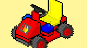 pixel art car lego instructions pixel art movie 6611 fire chief u0027s car youtube