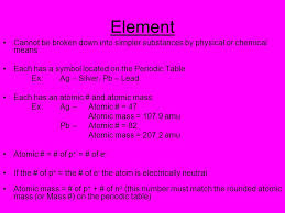element 82 periodic table the atom ppt download