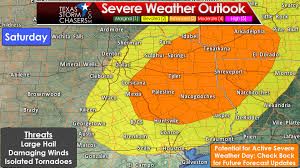 Dallas Weather Map by Active Severe Weather Pattern Returns For Friday And Saturday