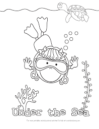 under the sea life coloring pages coloringstar