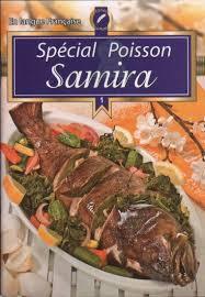 livre cuisine poisson samira spécial poisson livre