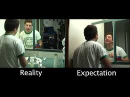 expectation vs reality youtube