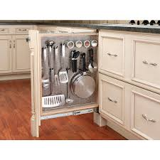 Kitchen Cabinet Trash Can Kitchen Unique Kitchen Cabinet Design Ideas With Revashelf