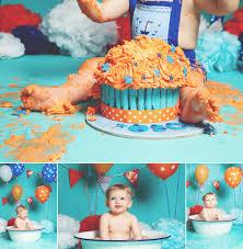 1st birthday cake smash photography dartford kent emma louise