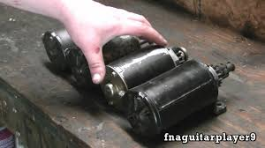 how to remove and replace a starter motor on briggs and stratton