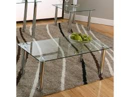 value city coffee tables and end tables cramco inc contemporary design napoli coffee table w glass top