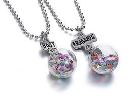 glass ball necklace images Best friends glass ball necklaces brenda 39 s jewelry box png