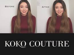 kylie coutore hair extension reviews how to add volume koko couture hair ad youtube