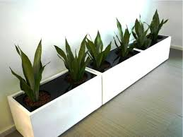 lawn garden unique geometric white pot floor planter indoor and