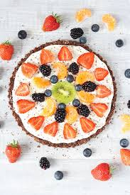 healthy no bake chocolate fruit pizza recipe healthy ideas for kids