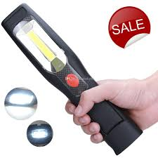 led cordless work light cob rechargeable portable hand held work