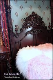 Faux Fur Blanket Queen Amazon Com Fur Accents Faux Fur Twin Size Bedspread Throw