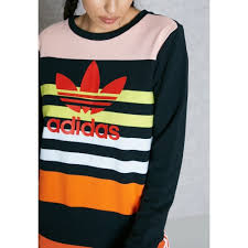casual latest style adidas originals trefoil sweatshirt women u0027s