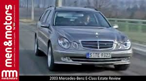 mercedes e class 2004 review 2003 mercedes e class estate review