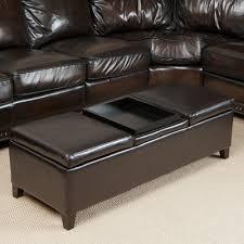 home loft concepts harold storage ottoman u0026 reviews wayfair