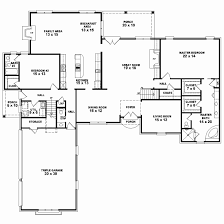 single story 4 bedroom house plans 5 bedroom house plans single story lovely 1 5 story 4 bedroom 3 5