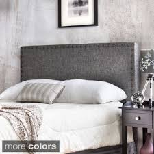 Curved Upholstered Headboard by Grey Headboards Shop The Best Deals For Oct 2017 Overstock Com