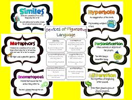 simile metaphor hyperbole personification worksheet worksheets