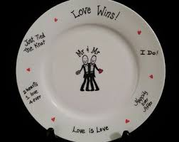 wedding signing plate wedding giftmr and mrwedding gift gift gift for