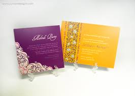 mehndi invitation cards junoon designs mehndi party engagement