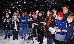 christmas carolers christmas carolers bid to guinness record in westport