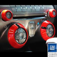 2014 orange camaro 10 14 chevrolet camaro billet radio knob covers upr