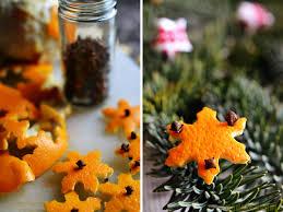 the perfume of orange clove ornaments ornament