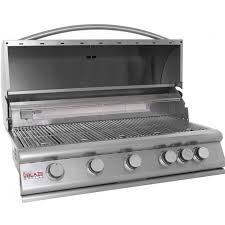 Backyard Grill 5 Burner by Blaze 40 Inch 5 Burner Built In Propane Gas Grill With Rear