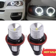 for bmw angel eyes halo white led ring marker light bulbs x5