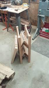 center island foldable butcher block finewoodworking