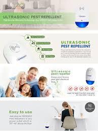 amazon com ultrasonic pest control senqiao indoor electronic