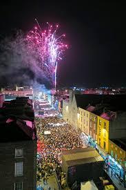 slideshow limerick is lit up as fireworks greet start of