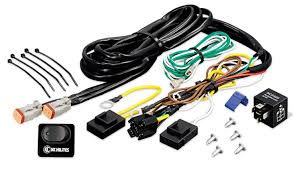 wiring harness with 40 amp relay and led rocker switch kc 6315