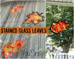 stained glass leaves you pinspire me