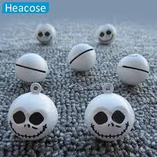 aliexpress com buy 3pcs lot creative skull christmas jingle bell