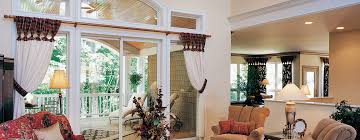 Patio Doors With Windows Slocomb Windows And Doors Patio Doors