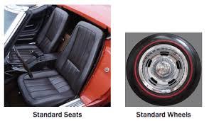 1968 corvette seats 1968 c3 corvette guide overview specs vin info