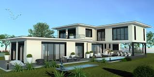 villa d architecte contemporaine accueil hmbc luxe constructeur de maisons de luxe maison